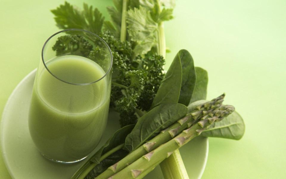 绿色健康夏日饮品高清壁纸图片