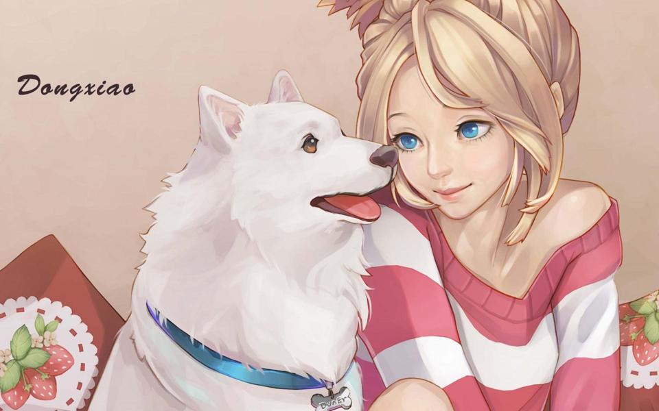 картинки аниме девушки с наушниками