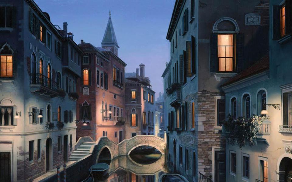 水城威尼斯建筑风景图片-电脑桌面壁纸_壁纸大全