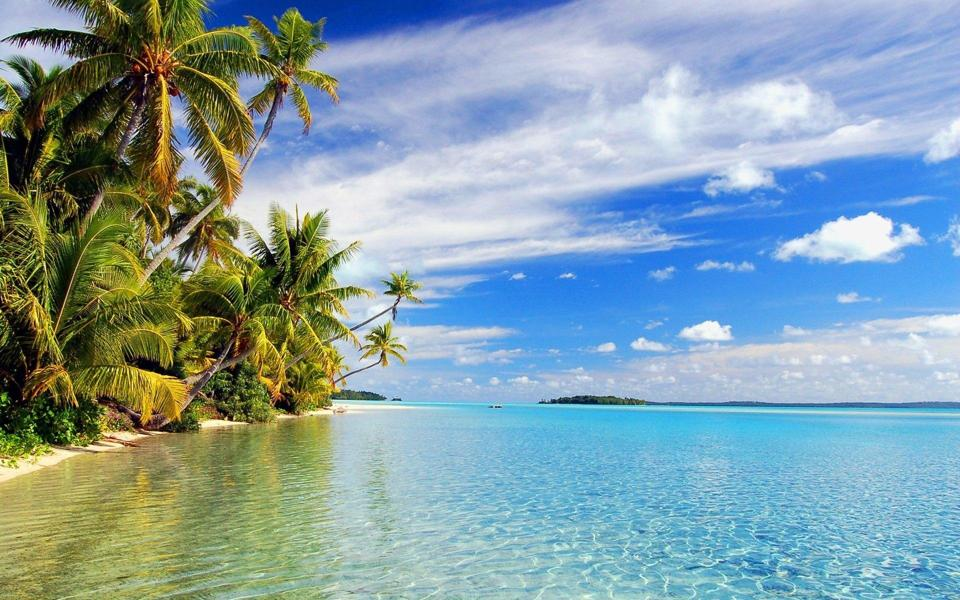 热带海岛高清电脑风景壁纸-电脑桌面壁纸_壁纸大全