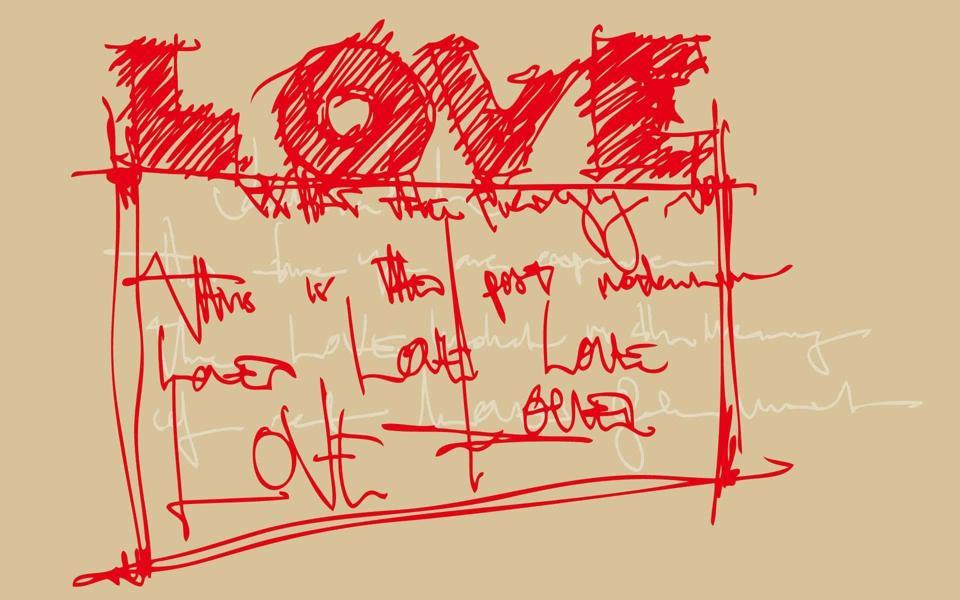 爱情算式非主流桌面壁纸
