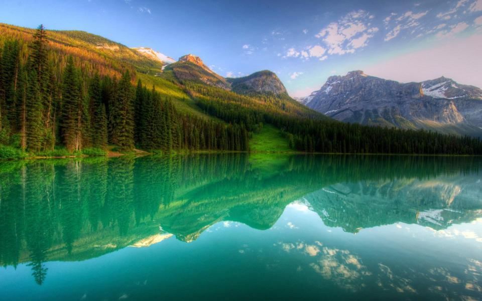 湖泊山水自然风景壁纸-电脑桌面壁纸_壁纸大全
