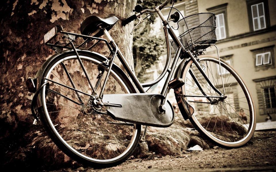 怀旧自行车高清壁纸-电脑桌面壁纸_壁纸大全