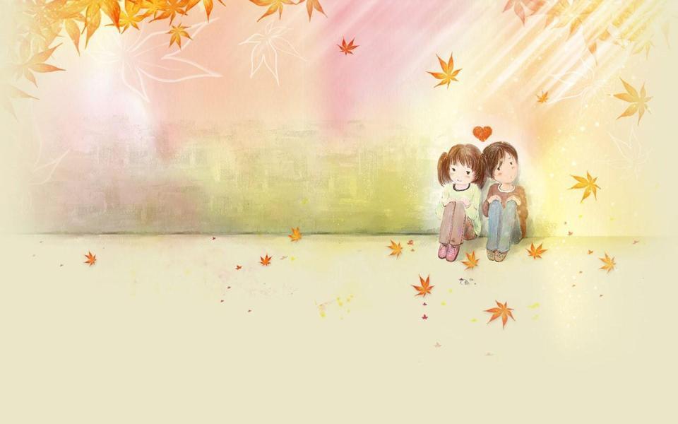 男孩为什么说女孩可爱 可爱男孩女孩图片 笑女孩与傻男孩