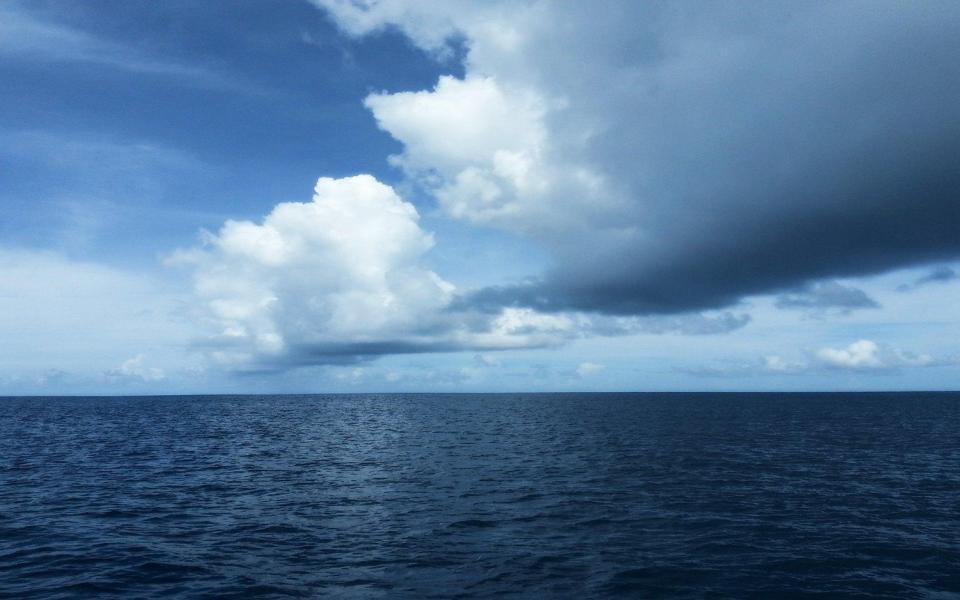蓝天大海高清风景桌面壁纸-电脑桌面壁纸_壁纸大全