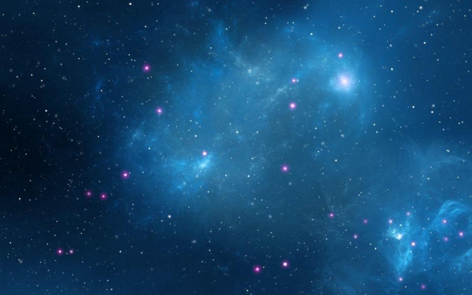 可爱好看的qq头像星空