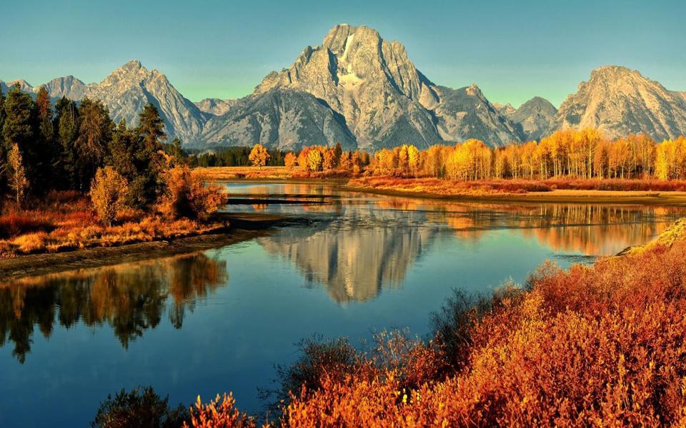 美丽的山水风景桌面壁纸-电脑桌面壁纸_壁纸大全