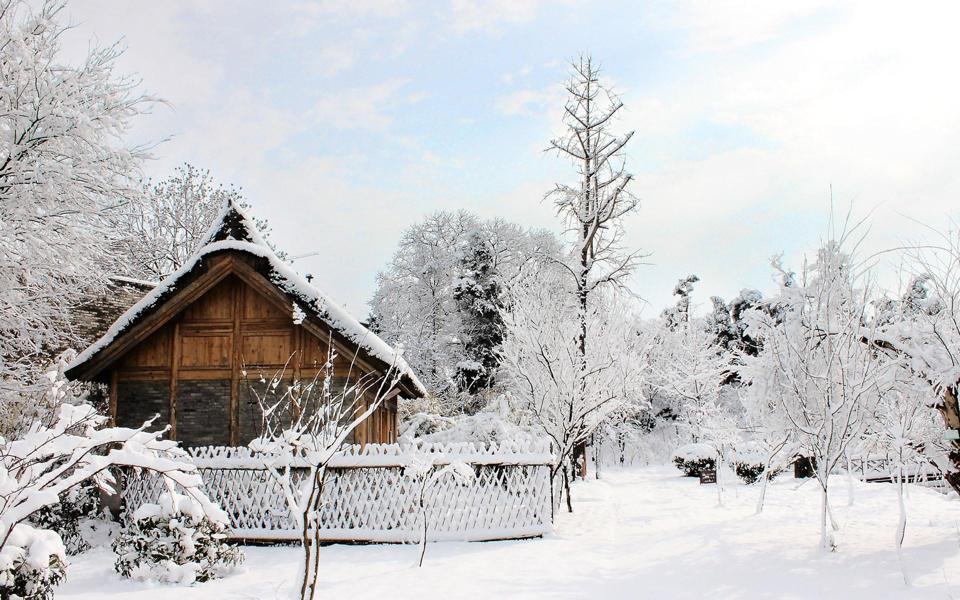 冬季好看的雪景风景桌面壁纸