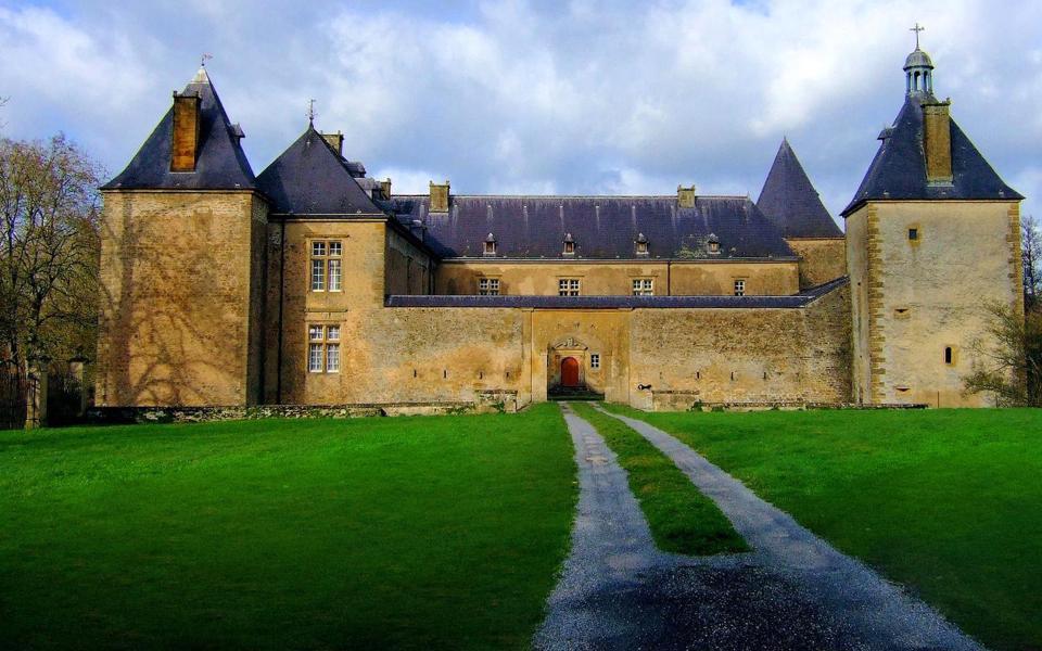 古城堡建筑风光桌面壁纸