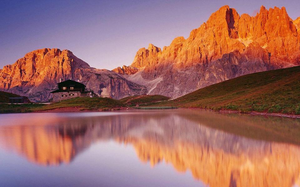 美丽的山水风景唯美壁纸桌面