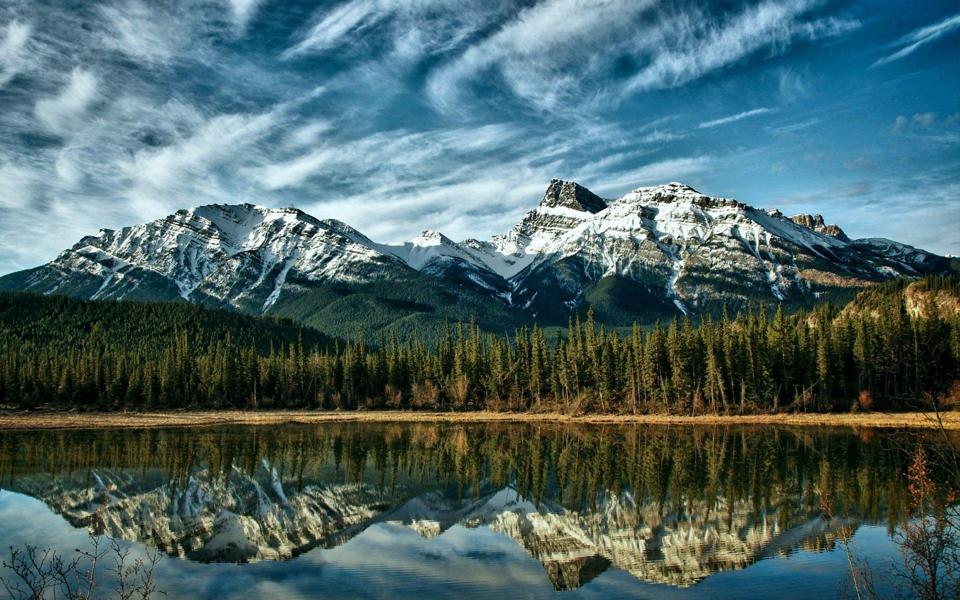 山水一色高清风景壁纸桌面高清图片