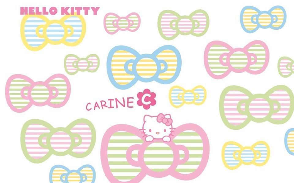 可爱的hello kitty桌面壁纸(5)-电脑桌面壁纸_壁纸大全