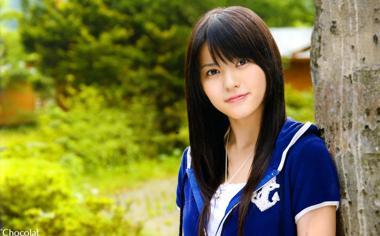 日本可爱美女桌面壁纸高清下载