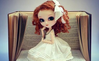 可爱的玩具娃娃壁纸