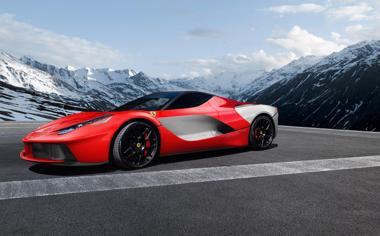 红色法拉利高清汽车壁纸