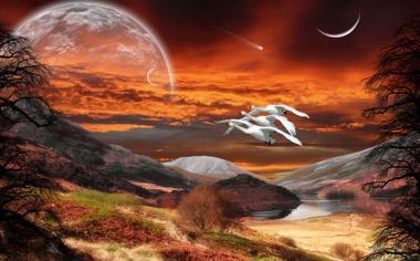 梦幻3d桌面壁纸风景高清下载