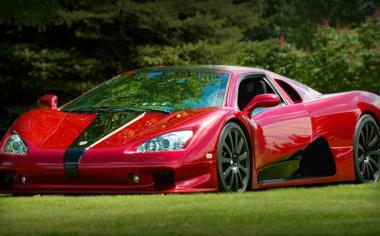 好看的红色跑车高清汽车壁纸图片