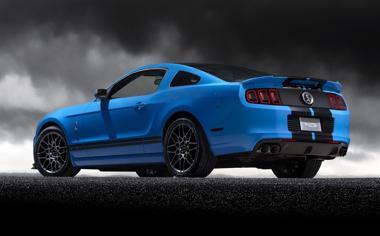 蓝色大气福特高清壁纸图片