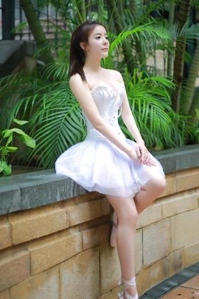 跳芭蕾舞的清纯美女壁纸图片