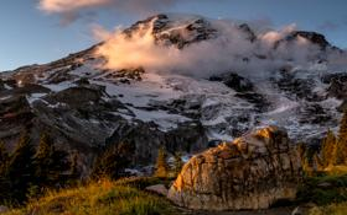 雷尼尔山国家公园风景壁纸