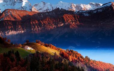 高山自然风景图片桌面壁纸