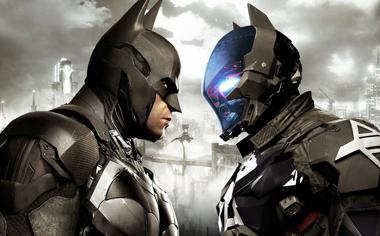 蝙蝠侠的对决插画电脑壁纸下载