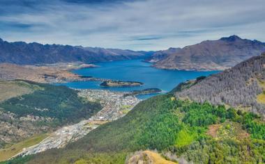 新西兰皇后镇高清风景桌面壁纸