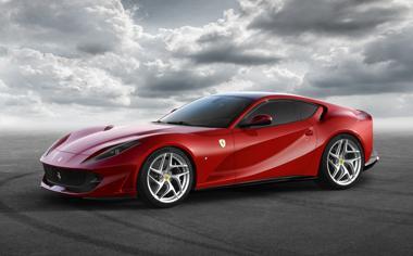 红色法拉利超级跑车高清壁纸下载