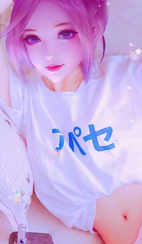 梦幻冰紫色星空少女头像手同壁纸5