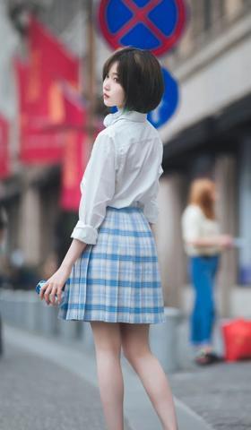 手机壁纸2021最新壁纸女生唯美女生背影图片真实照片9